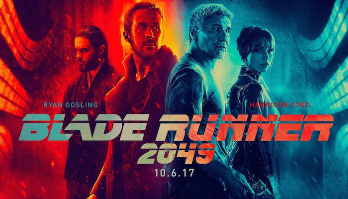 Blade Runner 2049 - Ends Thursday, 10/26