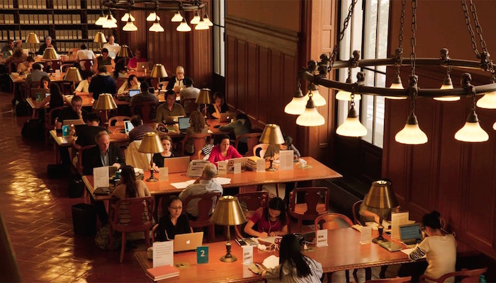 Ex Libris: The New York Public Library - Ends Thursday, 11/16 - Rosebud Cinema