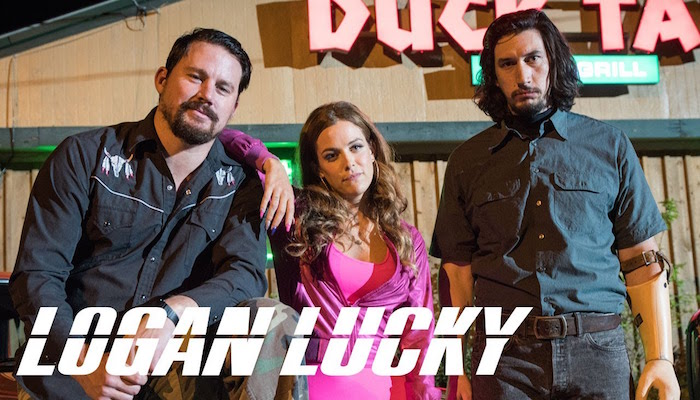 Logan Lucky - Ends Thursday, 8/31