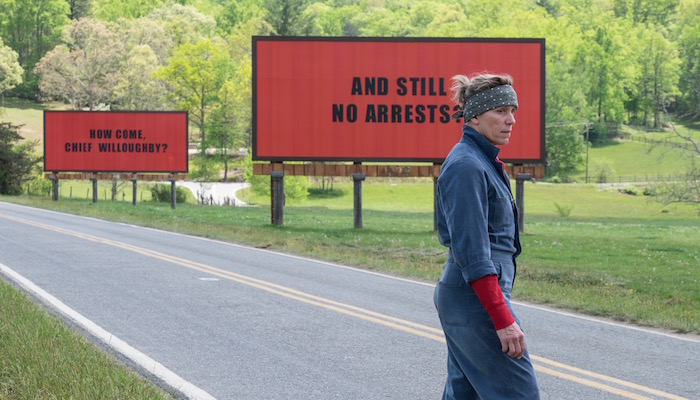 Three Billboards Outside Ebbing, Missouri - Starlight Room, Ends Thursday, 2/1